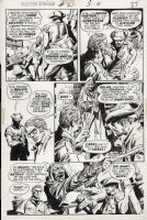 DeZUNIGA, TONY - Phantom Stranger #21 pg 3. Dr. 13 The Ghost-Breaker versus Medusa in:  Woman of Stone  Comic Art