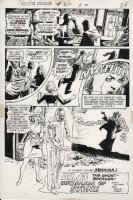 DeZUNIGA, TONY - Phantom Stranger #21 pg 1. Dr. 13 The Ghost-Breaker versus Medusa in:  Woman of Stone  Comic Art