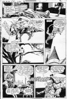DeZUNIGA, TONY - House of Mystery #253 DC pg 6, mad scientist lab & murder Comic Art