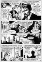 DeZUNIGA, TONY - House of Mystery page with host Cain Comic Art