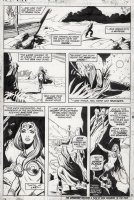 MAYERIK, VAL - Fear #15 pg 14, Man-Thing story. Ancient story with origin of Zhered-Na.  Comic Art