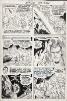 ANDRU, ROSS - Action Comics #366 pg 3, Superman am saved from from certain death by the Bizarros Comic Art