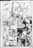 ANDRU, ROSS - Firestorm #65 pg 13 Comic Art
