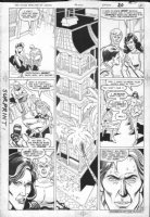ANDRU, ROSS - Teen Titans Spotlight #5 pg 15, Jericho Comic Art