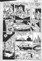 ANDRU, ROSS - Batman #409 pg 30, Batman catches new Robin, 1st appearance Comic Art