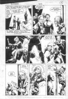 ANDRU, ROSS - Batman #409 pg 12, Batman vs thugs Comic Art