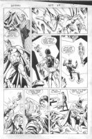 ANDRU, ROSS - Batman #409 pg 21, Batman helped by Jason Todd, 2nd continuity app. Comic Art