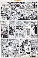 TRIMPE, HERB / SEVERIN - Ironman #85 pg 5, Iron Man builds new modern armor (no nose!) Comic Art
