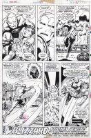 TRIMPE, HERB / SEVERIN - Ironman #85 last pg, Iron Man save Happy Comic Art