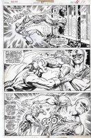 TRIMPE, HERB / SEVERIN - Ironman #85 pg 19, Iron Man battles Freak Comic Art