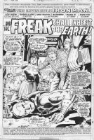 TRIMPE, HERB / SEVERIN - Ironman #85 story pg 1 splash, 1st modern armor (no nose!) Bullpen app (Wein Trimpe Severin, etc) Comic Art
