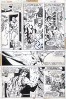 TRIMPE, HERB / SEVERIN - Ironman #85 pg 6, Iron Man removes old armor with nose! Comic Art