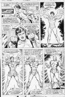 TRIMPE, HERB / SEVERIN - Ironman #85 pg 14, Iron Man transforms with modern armor Comic Art