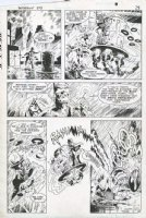 DAVIS, ALAN - Detective Comics #573 pg 21, Batman & Robin vs Mad Hatter Comic Art