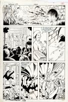 DAVIS, ALAN - Detective Comics #572 pg 51, Batman saves Queen 1987 Comic Art