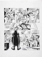 DAVIS, ALAN - ALAN MOORE' DR & QUINCH 2000 AD DR & QUINCH meets girlfriend 2-up pg 3 - 1984 Comic Art