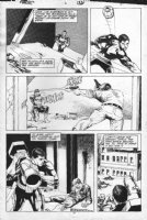 NOWLAN, KEVIN / ROSS - Punisher #6 pg 21, guns, grenades, bazooka Comic Art