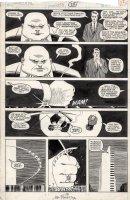 ROMITA JR, JOHN / AL WILLIAMSON - Daredevil # 253 pg, Kingpin solo story,  Merry Christmas, Kingpin  Comic Art