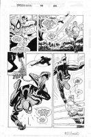 ROMITA JR, JOHN / AL WILLIAMSON - Spider-Man #74 pg 22, Spiderman & Daredevil Comic Art