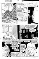 ROMITA JR, JOHN - Starbrand #4 pg 19, inks by the great Al Williamson Comic Art