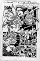 ROMITA JR, JOHN / AL WILLIAMSON - SCARLET-SPIDER #2 pg 4, Spidey vs female Doc Oct Comic Art