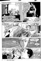 ROMITA JR, JOHN / AL WILLIAMSON - Daredevil # 254 pg 12, DD / Matt in 1st Typhoid Mary story Comic Art