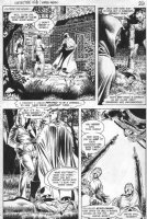 WOCH, STAN - Detective #568 pg 2, Black Canary dead? Comic Art