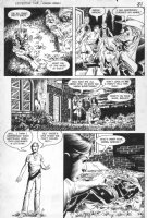 WOCH, STAN - Detective #568 pg 6, Green Arrow, Black Canary safe Comic Art