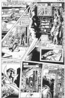 WOCH, STAN - Teen Titans Spotlight #14 pg 12, Batman, Robin, Knight-Wing Comic Art