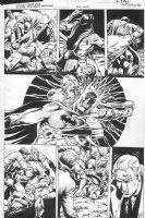 WOCH, STAN - Teen Titans Spotlight #14 pg 4, Batman Comic Art
