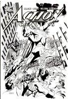 JURGENS, DAN / KEVIN NOWLAN - Action #830 cover, Superman Comic Art