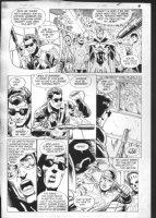 JURGENS, DAN - Booster Gold #5 pg 9, 1986 Comic Art