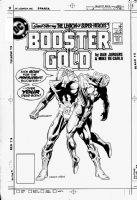 JURGENS, DAN - Booster Gold #9 cover, 1986 Comic Art