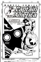 JURGENS, DAN / BOB LAYTON - Captain America #515 cover, Capt, Submariner & Hate-Monger 2001  Comic Art