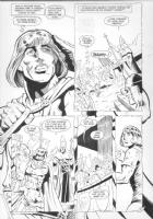 JURGENS, DAN - DC Challenge #6 pg 7 Comic Art