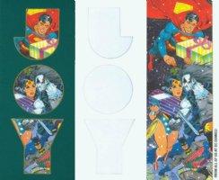 JURGENS, DAN / GIORDANO - DC Office X-mas card 1991 - Reference Comic Art