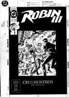 JURGENS, DAN - Robin III #2 cover, Huntress Comic Art