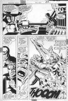 JURGENS, DAN - Booster Gold #10 pg 17, 1986 Comic Art