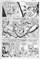 JURGENS, DAN - Booster Gold #10 pg 18, 1986 Comic Art