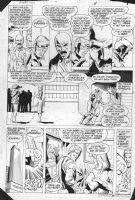 JURGENS, DAN - Booster Gold #2 pg 4, 1986 Comic Art