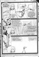 JURGENS, DAN - Booster Gold #2 pg 1, 1986 Comic Art