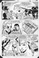 JURGENS, DAN -  Booster Gold #2 pg 18, Booster - headlines Comic Art