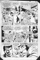 JURGENS, DAN -  Booster Gold #2 pg 19, Booster on film Comic Art
