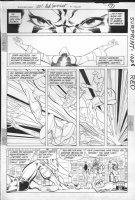 JURGENS, DAN -  Booster Gold #7 pg7, Booster & Superman Comic Art