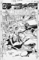 JURGENS, DAN - Sundevils #5 cover Comic Art
