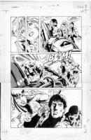 JURGENS - Sun Devils #6 pg 25 Comic Art