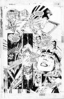 JURGENS - Sun Devils #5 pg 7 Comic Art