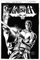 ORDWAY, JERRY / DAN JURGENS - Punisher #1 cover Dynamic Forces edition Comic Art