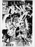 ADAMS, ART - Classic X-Men cover #23 origin of Professor X, Shadow King Comic Art
