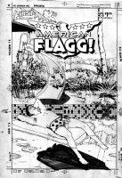 CHAYKIN, HOWARD - American Flagg #43 cover, Raul the cat  Comic Art